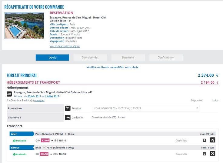Ibiza, vol direct : un hôtel extrêmement bien noté au Nord de l'île, au calme, avec un très bon all inclu : https://www.tripadvisor.fr/Hotel_Review-g775984-d238636-Reviews-Hotel_Ole_Galeon_Ibiza-Port_de_Sant_Miguel_Ibiza_Balearic_Islands.html - 2140 pour 11 jours