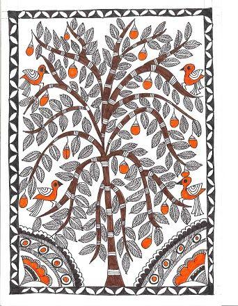 (1) Madhubani Painting
