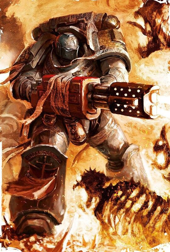 Kill With Fire | 40k: Grey Knights | Warhammer 40k, Grey ...