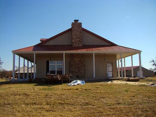 27 best images about pole barn homes ideas on pinterest for Pole barn with porch
