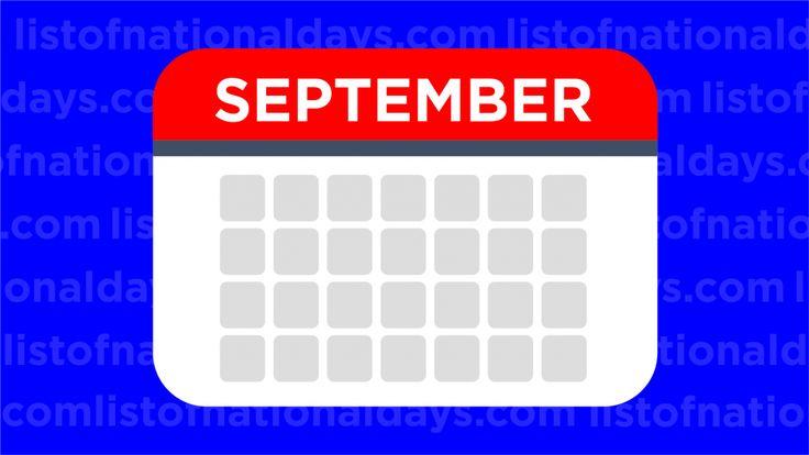 List of September National Days