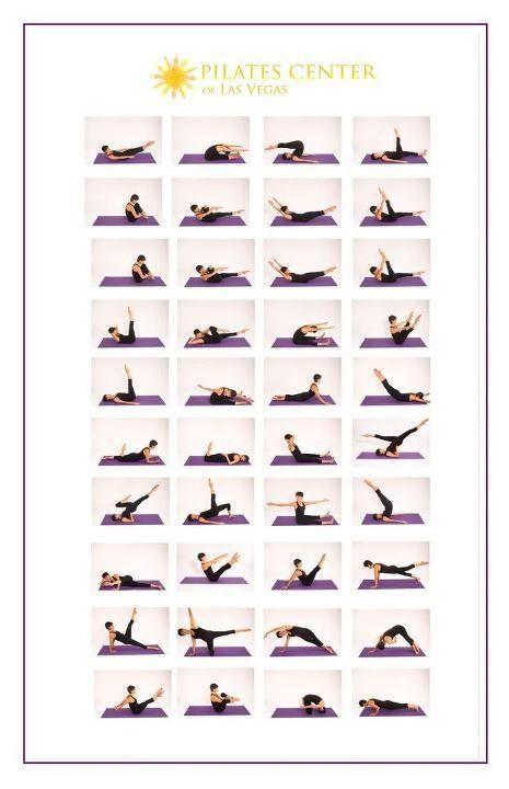 Movimientos de Pilates