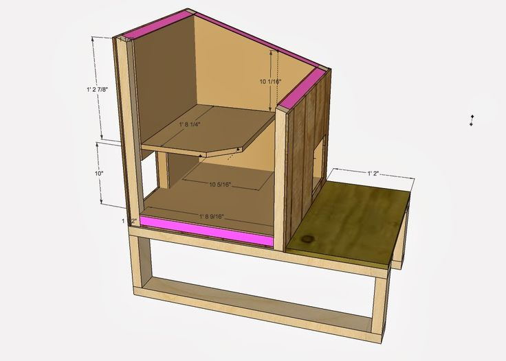 25 best ideas about cat house plans on pinterest 5 Shelter house plans