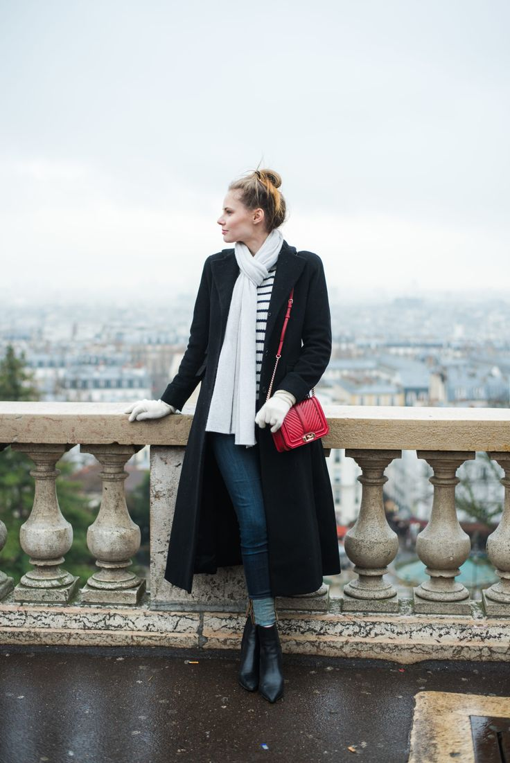 Miss USA 2011 Alyssa Campanella of The A List blog visits Paris, France wearing Rebecca Minkoff Quilted Chevron Bag
