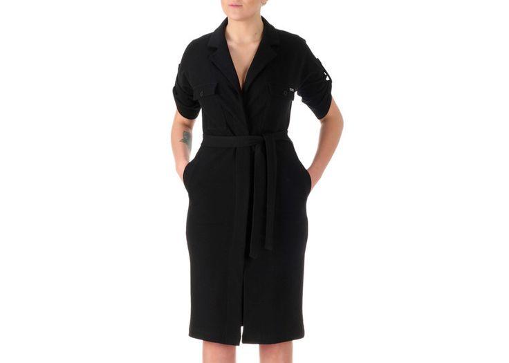 L Grace Black - dresowa szmizjerka od Freeshion - FreeshionOutlet - Sukienki dresowe