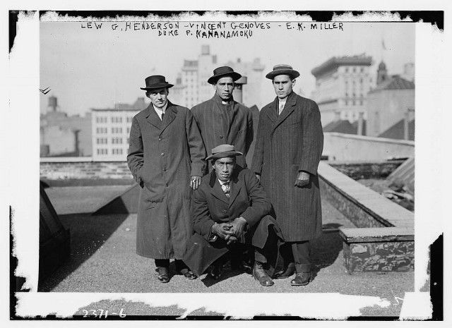 : Legendary Duke, Legends, Hawaiian Swimmers, People, Photo, How To Be, Library Of Congress