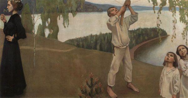 """""""Spring"""" (1903) by Akseli Gallen-Kallela"""