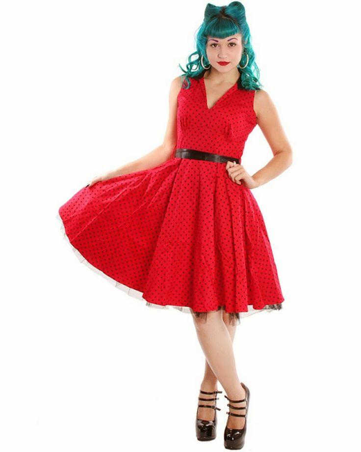 Imágenes de vestidos pin-up | Colección de vestidos Pin Up