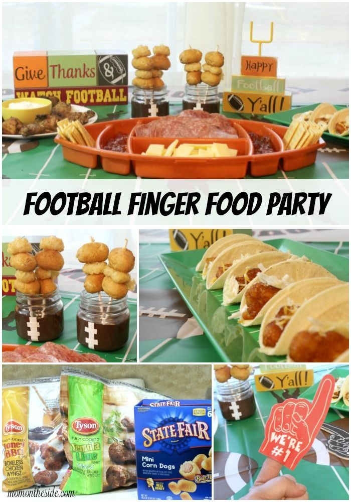 AD Plan an epic Football Finger Food Party with these deliciously amazing recipes you can throw together in under an hour!  #PlayoffPicks #CollectiveBias