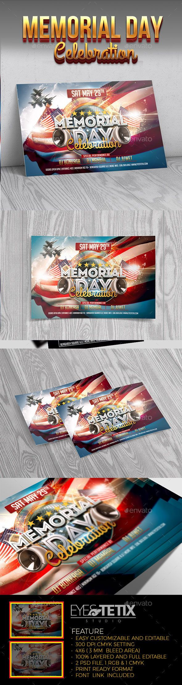 Memorial Day Celebration - Holidays Events