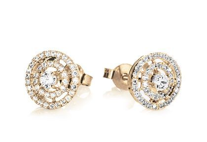 Diamonds are a girl´s best friend! #galatea #goldohrringe #diamantohrringe #diamanten #brillanten #yorxs