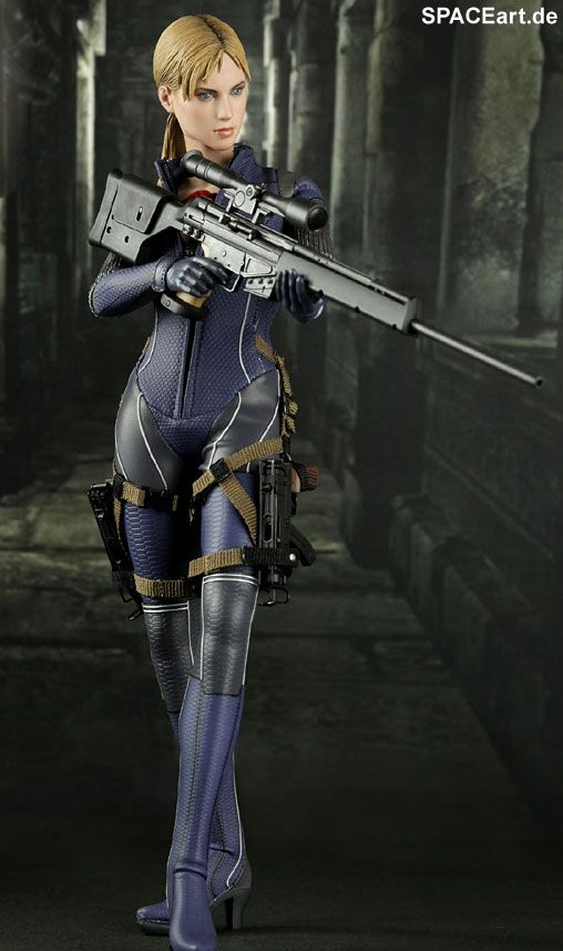 Resident Evil 5 (Biohazard 5): Jill Valentine - Deluxe Figur ... http://spaceart.de/produkte/rde002.php