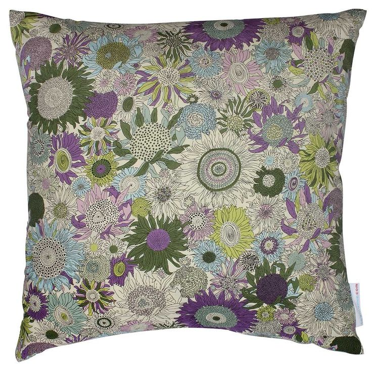 Liberty Cushion Small Susanna Purple 40x40 cm