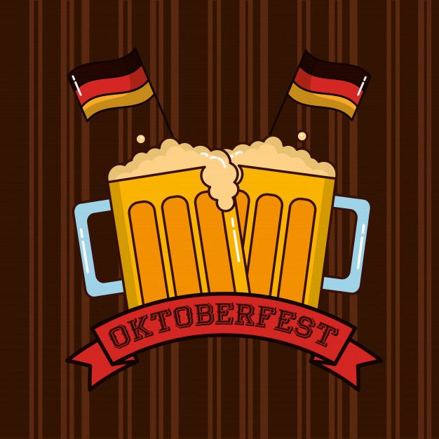 Oktoberfest germany celebration | Free Vector