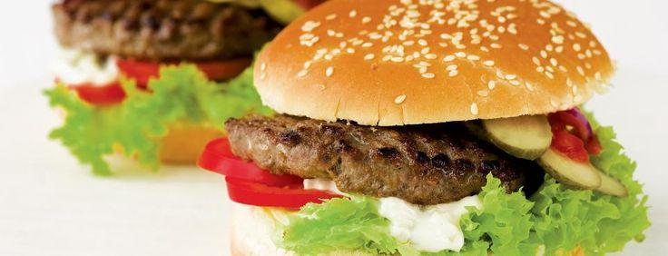 Burger s domácí tatarkou