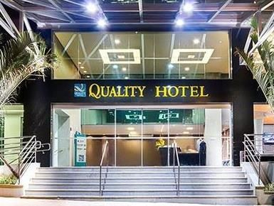 Belo Horizonte Quality Hotel Pampulha Belo Horizonte Brazil, South America Quality Hotel Pampulha Belo Horizonte is conveniently located in the popular Pampulha area. Offering a variety of facilities and services, the hotel provides all you need for a good night's sleep. Take advantage of the hotel's free Wi-Fi in all rooms, 24-hour front desk, facilities for disabled guests, express check-in/check-out, luggage storage. Each guestroom is elegantly furnished and equipped with h...