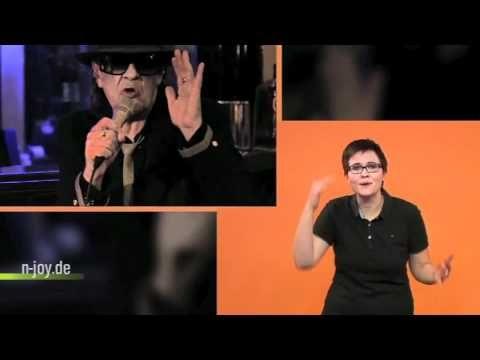 """""""Cello"""" von Udo Lindenberg feat. Clueso in Gebärdensprache    NJOY   NDR"""