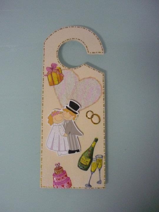 Placa porta Door plate