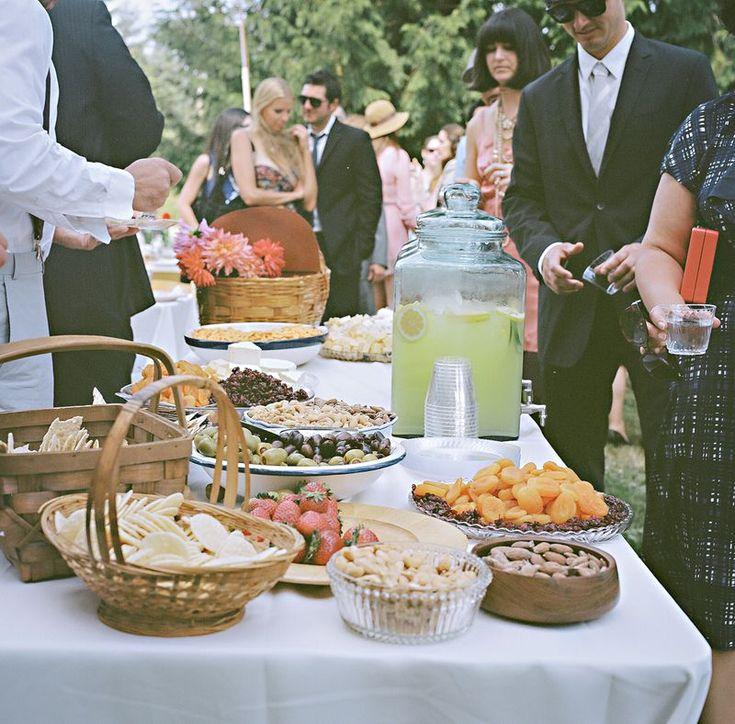 Wedding Snack Bar Ideas: 17 Best Ideas About Wedding Snack Tables On Pinterest