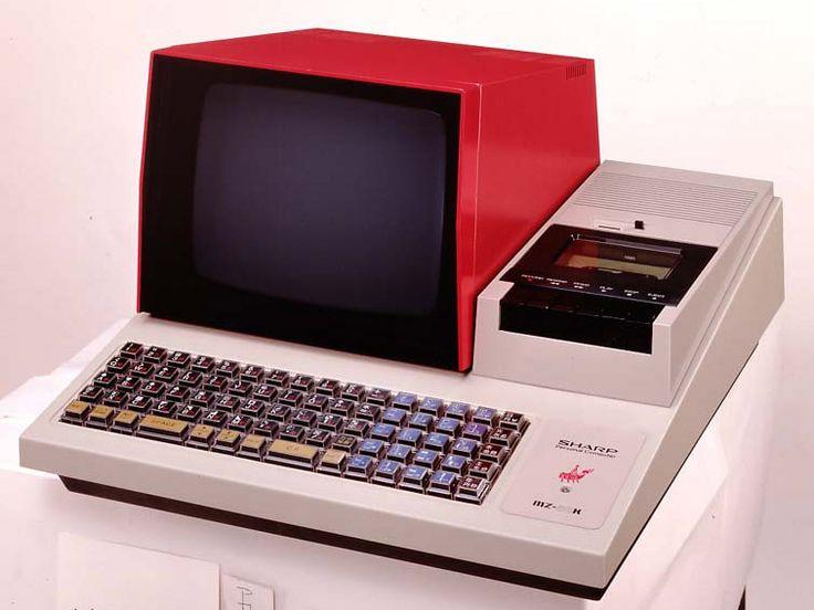 MZ-80Kパーソナルコンピュータ