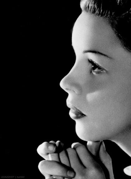Judy Garland...so incredibly gifted and so incredibly tragic...what a voice