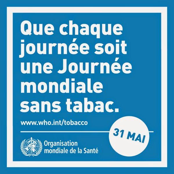 31 mai: la Journée mondiale sans Tabac en classe de FLE       http://apfvalblog.blogspot.com.es/2013/05/la-journee-mondiale-sans-tabac-en.html