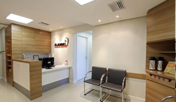 AUDIBEL - Clinica e revenda de aparelhos auditivos com salas de atendimento, cabine de audiometria e sala de CEPAP. Áres: 30m².