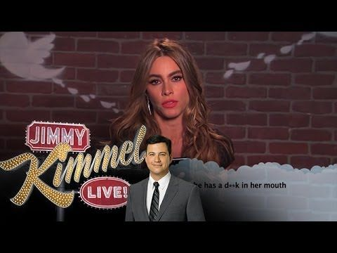 Here's the full clip: | Celebrities Read Mean Tweets About Themselves Part 7