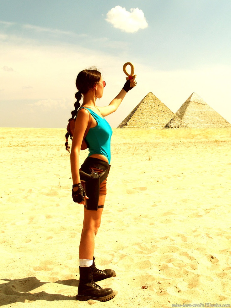 Lara Croft (Tomb Raider) #cosplays