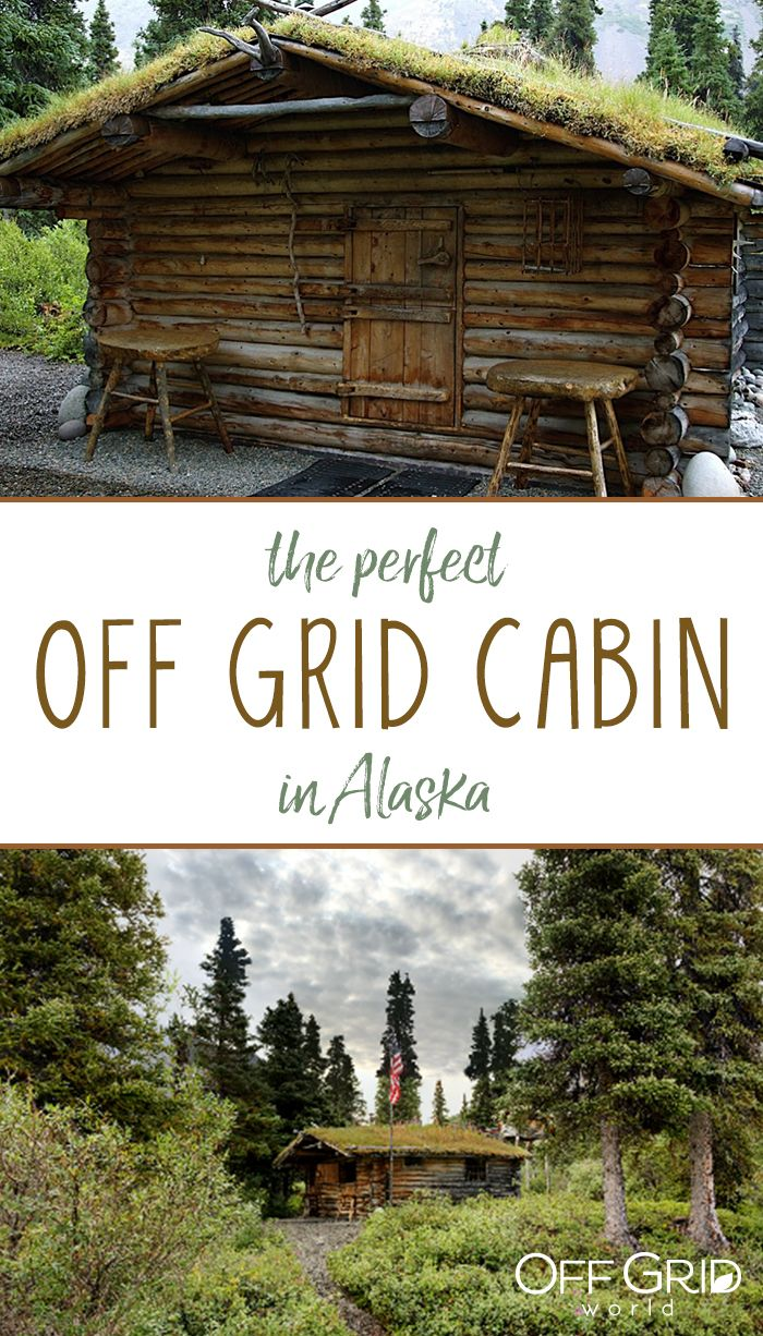 A beautiful, vintage off grid cabin in Alaska - and the builder took videos of his building process