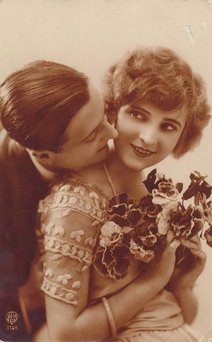 F. Scott and Zelda Fitzgerald--before the madness and drink truly took over.  I don't know why I'm so fascinated by them--but I am.