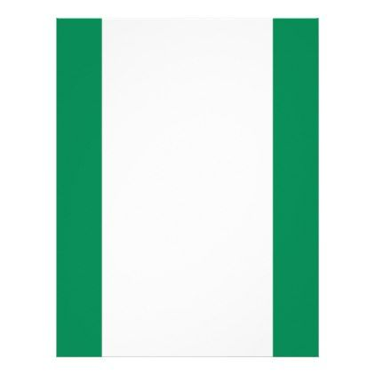 #Low Cost! Nigeria Flag Letterhead - #travel #office #gifts