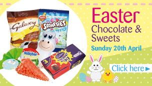 Happy easter from Poundland. Go and buy some chocolate.