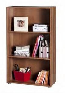 Libreria modulare componibile tre vani colore pruno  Art. CPSLB2885K30305    Libreria componibile a tre vani regolabili.  Mobile libreria con due ripiani, di cui quello superiore regolabile in altezza, grazie ai supporti presenti spostabili in più posizioni.  Il mobiletto economico, può essere utilizzato come base o piccola libreria da ufficio, nello studio professionale, nella zona di studio e in tutti gli arredamenti della tua casa.