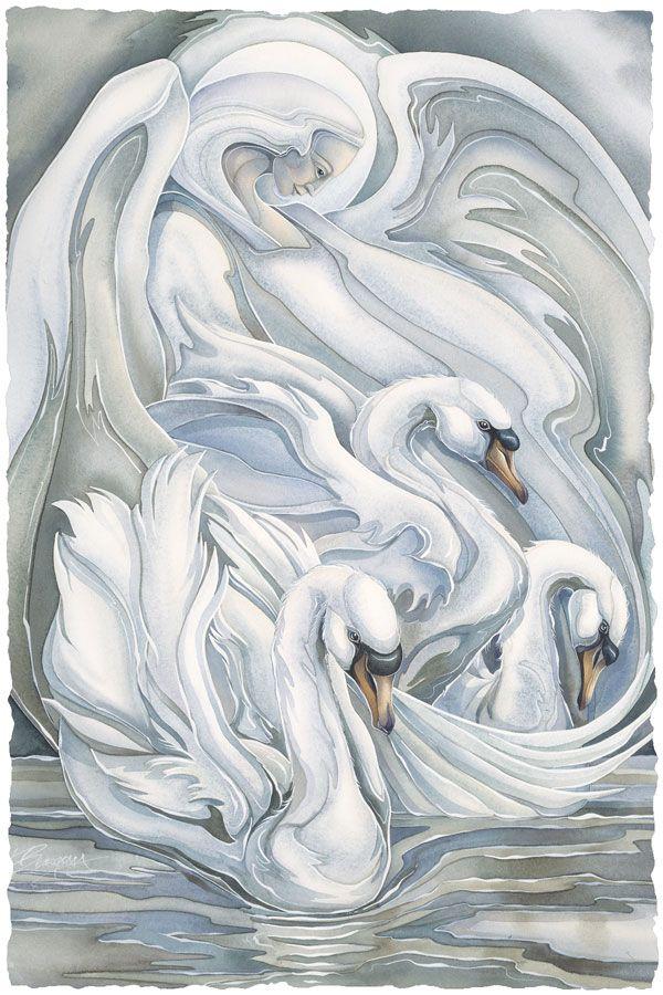 Bergsma Gallery Press::Paintings::Nature::Birds::Water Birds::Spirit of Grace - Prints: