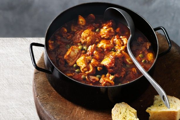 This chicken cacciatore is packed with garlic, capers and red onion for maximum flavour.