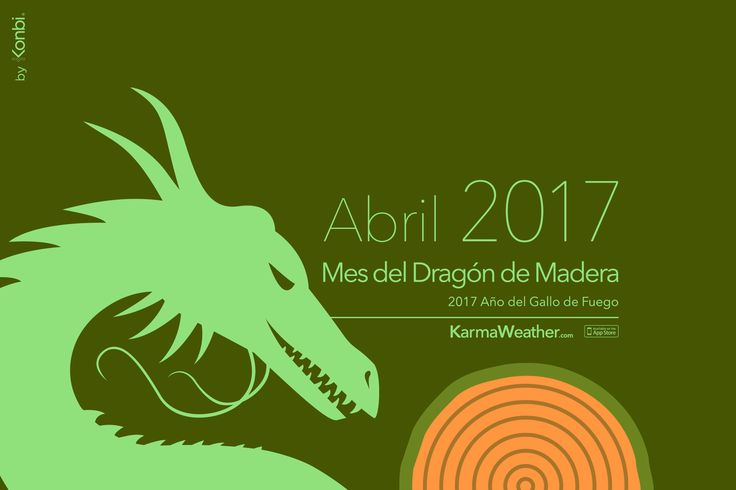 Horóscopo chino diario de Abril 2017 del Mes del Dragón