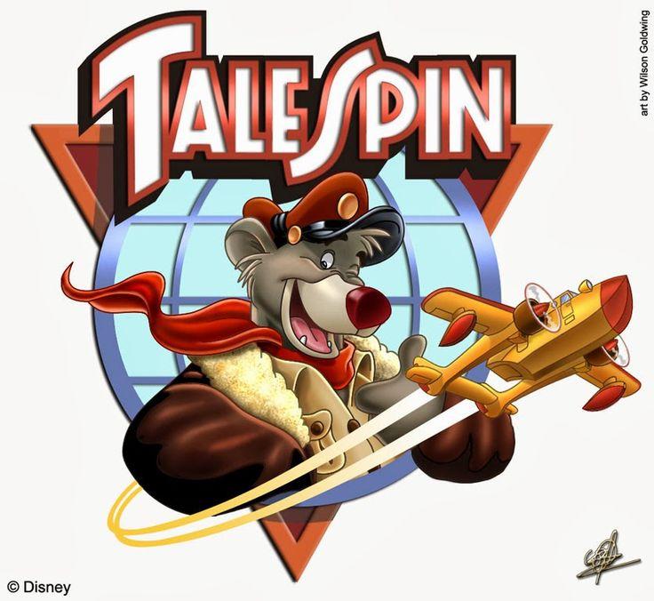 disney talespin | TaleSpin (Esquadrilha Parafuso) - AVI Inglês TV-Rip Download.