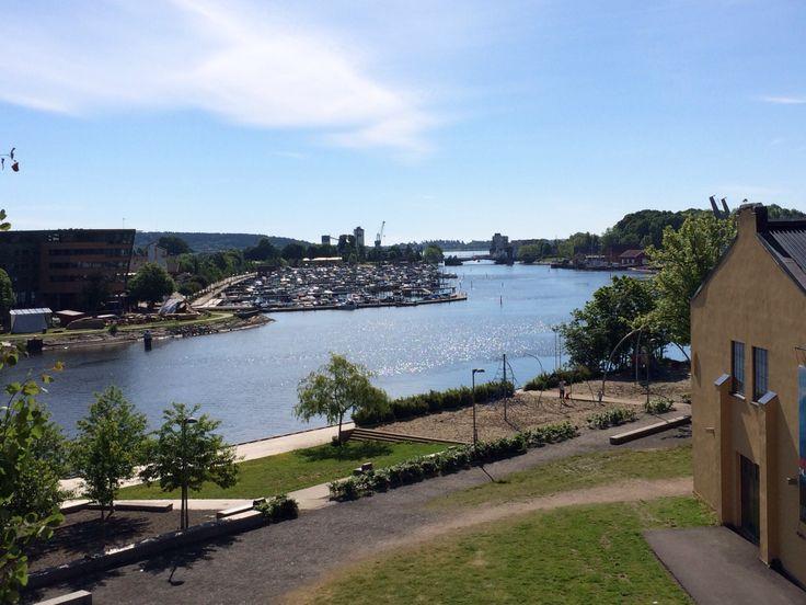 Ollebukta, kanalen i Tønsberg