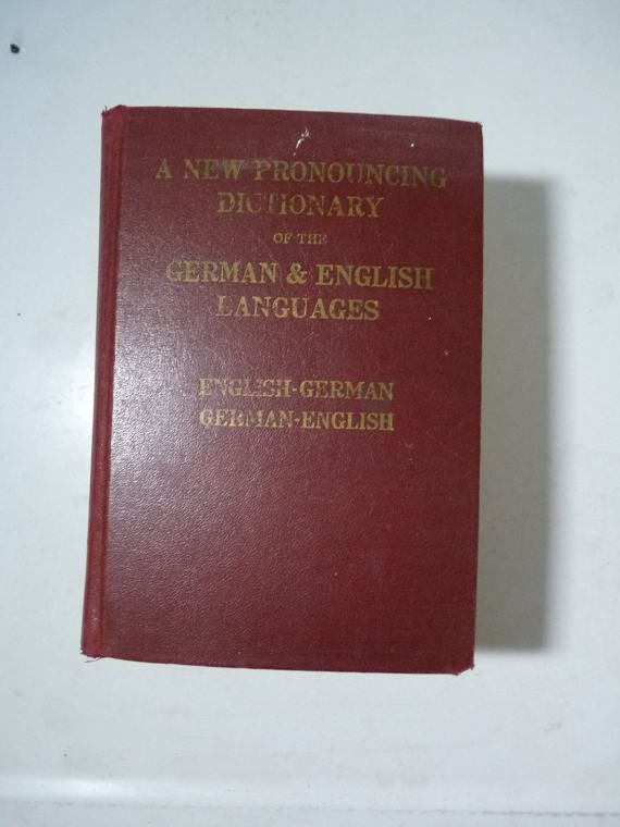Check out this item in my Etsy shop https://www.etsy.com/listing/504593870/german-english-dictionary