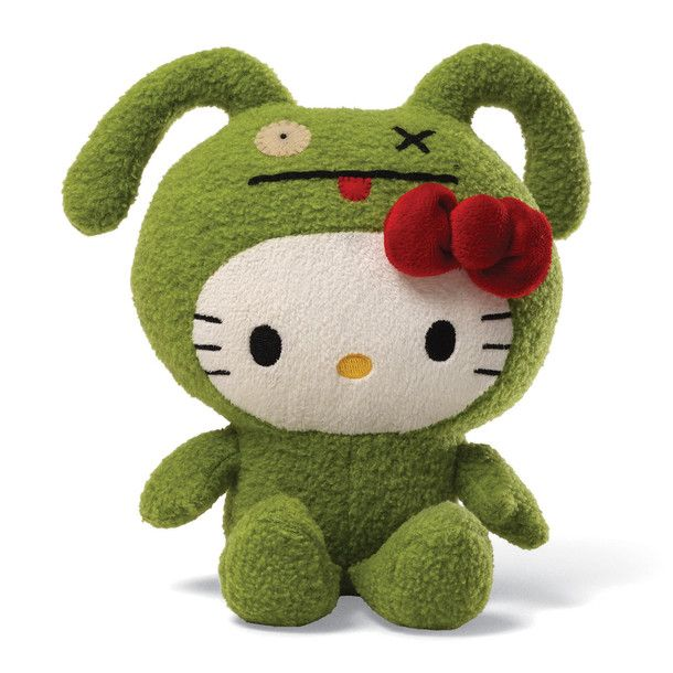 Looks like Hello Kitty in Frog!