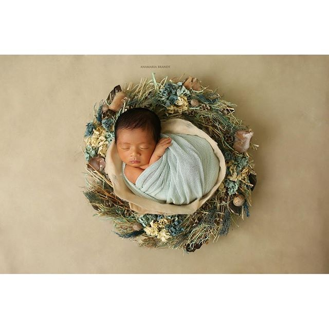 Nest of curls blanket newborn felted layer photo props photography bellybabylove anabrandt