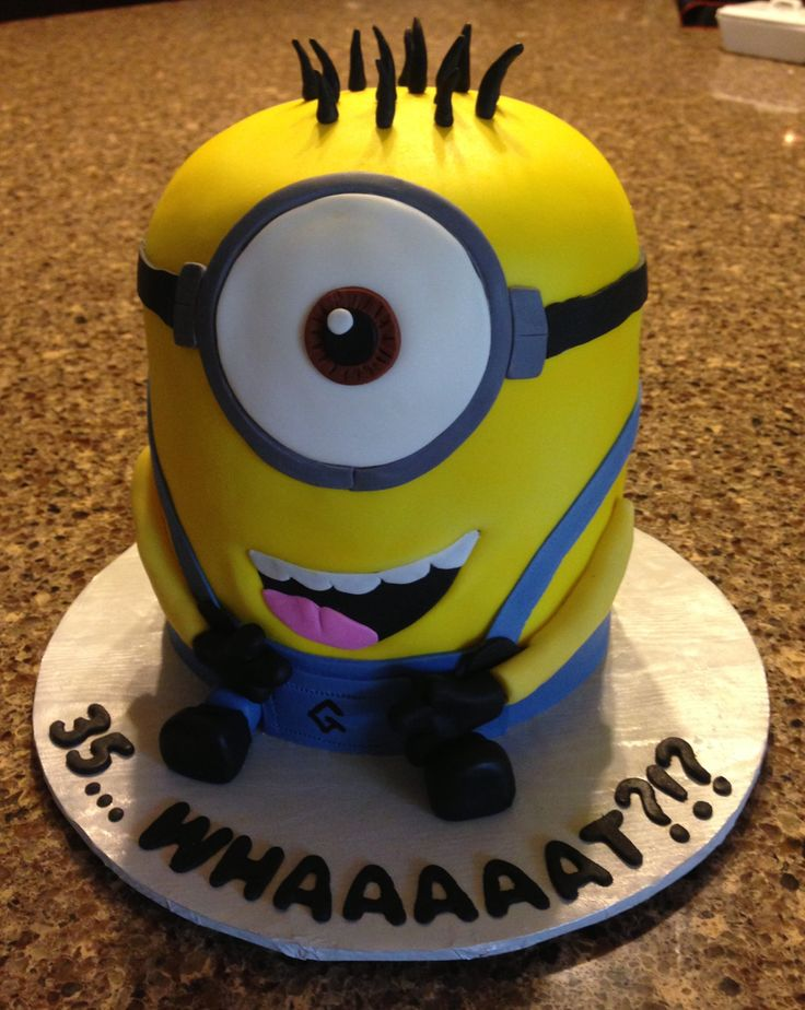 Minion Cake Cakes Design Pinterest Minion Cakes