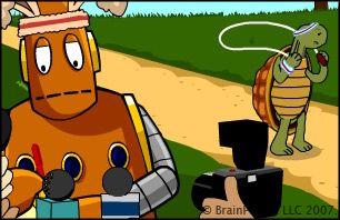 Brain Pop, Jr. explains inferences