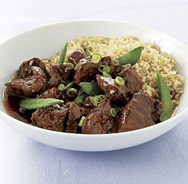 Slow-Cooker Five-Spice Pork with Snap Peas - Fine Cooking Recipes, Techniques and Tips