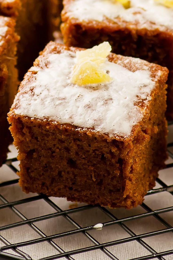 Ginger Cake With Lemon Recipe