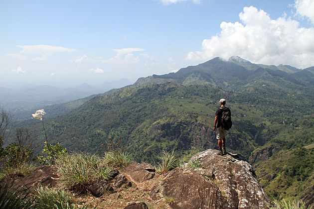 Ella Rock Hike in Sri Lanka