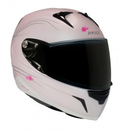 Casco XR1R GLAM ( blanco/rosa)
