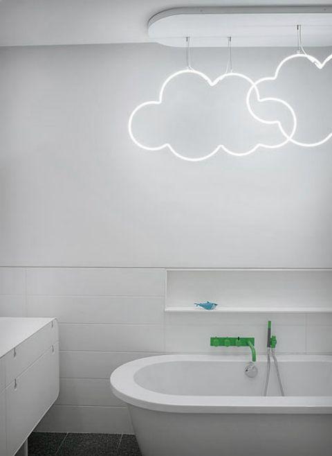 nuvole luminose