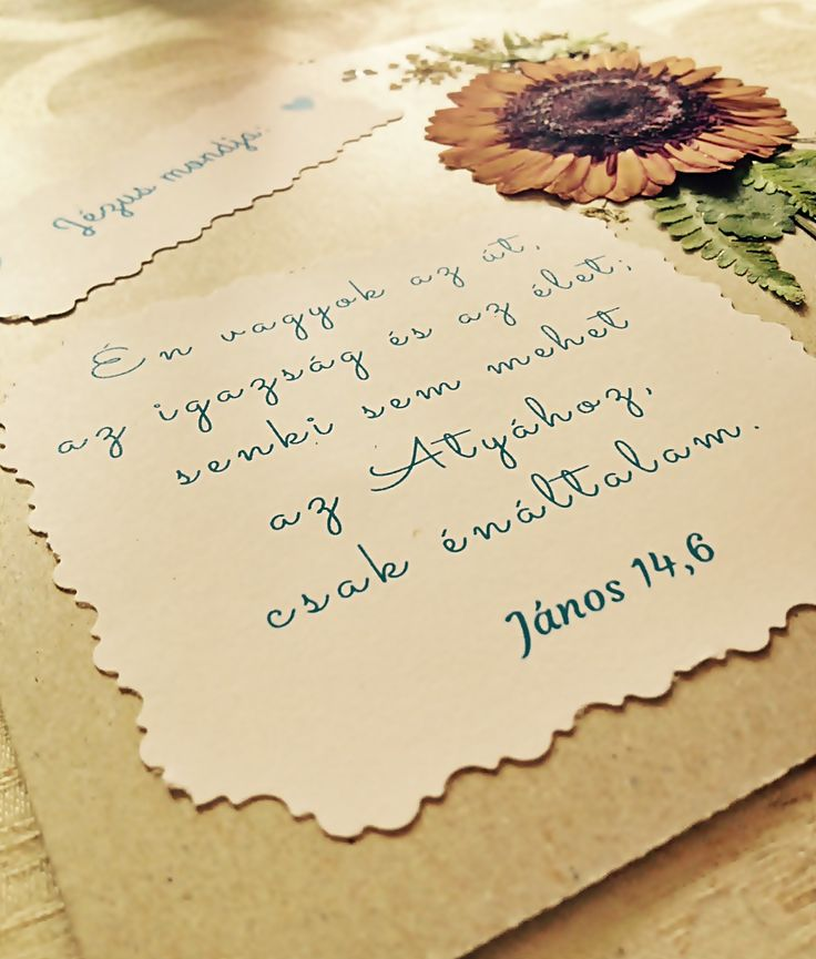 pressed flower picture with Bible verse